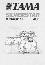 Tama Silverstar Mirage Crystal Ice Pack 6 Fûts Acryliques Ed. Limitée
