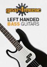 Gear4music gaucher guitares basses
