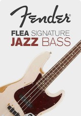 Fender Flea Signature Jazz Bass, Roadworn Shell roze