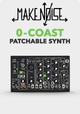 Make Noise 0-Coast Single Voice Patchable Synthesizer