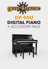 DP-90U Staande Digitale Piano van Gear4music + Accessoireset Plus