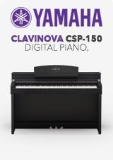 Yamaha Clavinova CSP-150 Piano numérique, noir satiné